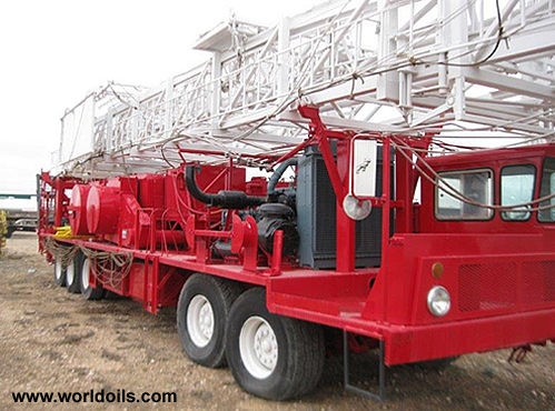 Used Workover Rig for Sale