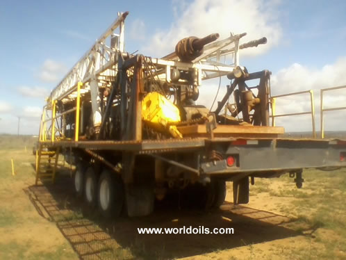 Trailer Mounted Land Drilling Rig for Sale