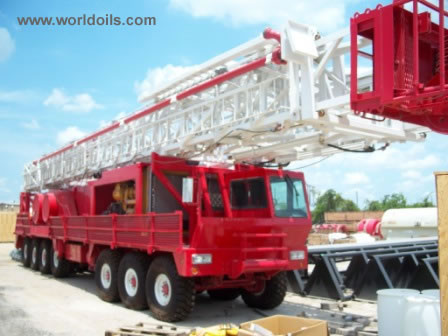 Workover Rig - LCI 750 - For Sale