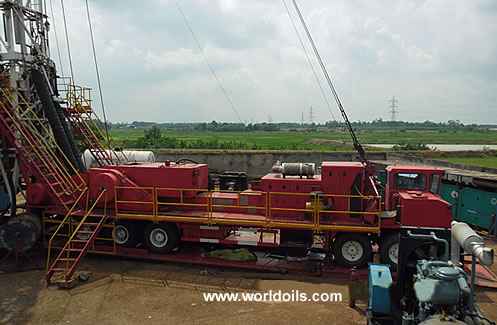 2008 built Workover Rig for Sale
