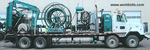 Coiled Tubing Unit for Sale in Canada