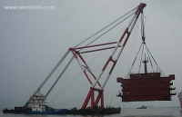 1000 ton Floating Crane for Sale
