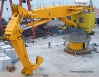 Newbuilding 100 tons non-AHC Knuckleboom Crane