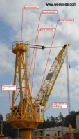 100ft Diesel Powered Marine API 2C Crane for Sale