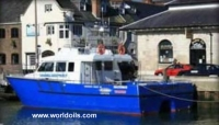 Aluminium Windfarm Catamaran Vessel For Sale