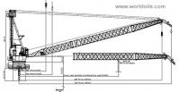 150 Ton Lattice Boom Offshore Crane
