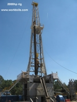 2000HP Land Drilling Rig For Sale