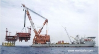 3000Ton Revolving Floating Crane