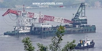 360 Tons Crane Barge with Notch Tug for sale