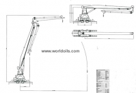 3T Knuckle Boom Crane for Sale