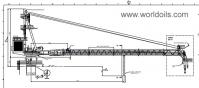 40T Offshore Wireluffing Diesel Hydraulic Crane - New