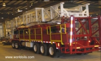 New 475 HP Five Axle Carrier Mounted Workover Rig