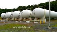 Propane, LPG, NGL Storage Bullet Tanks