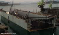 DWT 6500 Ton Floating Dock for sale