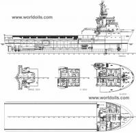 1996 Built Platform Supply Vessel for Sale