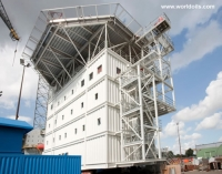 Offshore Accommodation Module with Helideck for Sale.