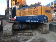Bauer BG 24 H Rotary Drill Rig for Sale