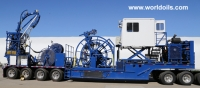 Coiled Tubing Unit Trailer Mounted for Sale