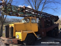 Chicago Pneumatic 670 Drilling Rig - For sale
