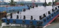 Construction Barge - 35m - For Sale