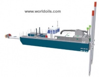 Heavy Duty Cutter Suction Dredger - C10 - for Sale