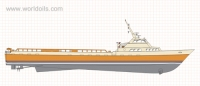 165FT Fast Supply Vessel for Sale