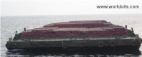 Flat Top Barge - 76m - For Sale