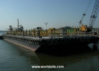 44m Flat Top Barge for Sale