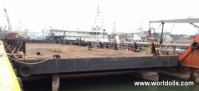 Flat Top Deck Cargo Barge For Sale