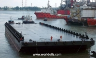Flat Top Deck Cargo Barge - 92m - For Sale