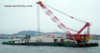 200Ton Floating Crane for Sale