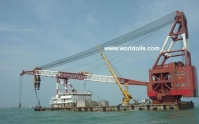 Floating Crane For Sale - 600Ton