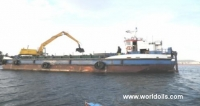 Accomodation Crane Work Barge For Sale