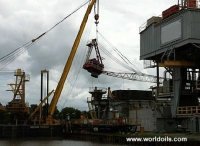 National OS - 105 Hydraulic Pedestal Crane for Rent or Sale