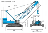 Kobelco 7250-2F Crawler Crane for sale
