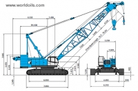 Kobelco CKE1350-1F Crawler Crane for Sale