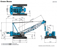 Kobelco CKE1800-1F Crawler Crane for sale
