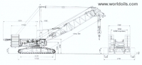 Kobelco CKE4000C Crawler Crane for Sale