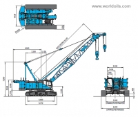 Kobelco CKS1100 Crawler Crane for sale
