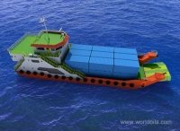 Landing Craft 39 Meters Passenger Ferry for Sale