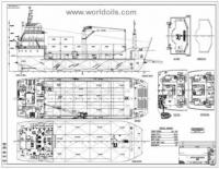 Landing Craft Barge - 64m - for Sale