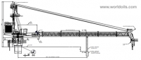 60TLattice Boom Offshore Crane