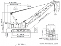 Manitowoc 12000 Crawler Crane for sale