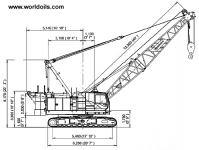 Manitowoc 8500-1 Crawler Crane for Sale