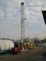 Carrier Mounted Telescopic Mast, Double Drilling Rig