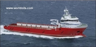 Supply Vessel & Pipe Carrier for Sale