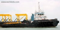 Oceangoing Tugboat 34m for Sale