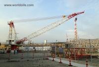 National OS-435 H.D model Pedestal Offshore Crane
