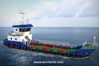 Self Propelled Oil Barge - 120 KL - For Sale