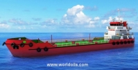 Self Propelled Oil Barge - 600 KL - For Sale